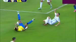 ملخص مباراة الارجنتين والبرازيل 1-0 ميسي بطل الكوبا اخيراااا - YouTube