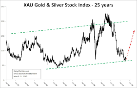 Gold 25 Year Chart Gold Silver Stocks Will Rise Again The Deviant Investor