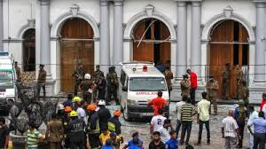Image result for church bombings in sri lanka