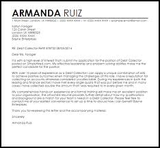 dept collection letter debt collector cover letter sample cover letter templates examples