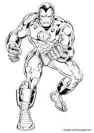Small Picture Ironman Cartoon Coloring Pages Coloring Pages