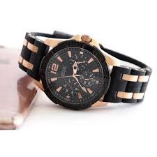 guess men s black chronograph luxury watch