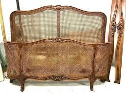 Cane Bed Frame French Cane Bed Frame Antique Frames French Cane Bed ...