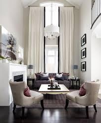 Modern Window Treatment For Living Room Story Window Treatments In Living Room Transitional With Black