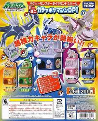 Pokemon Mini Vending Machine Custom Takara Tomy Pokemon Pocket Monsters Gashapon DP Diamond Pearl 48 Mini