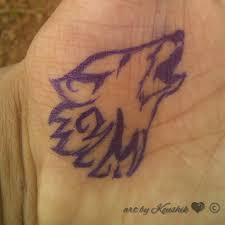 Love To Draw Dog Wolf Tattoo Design