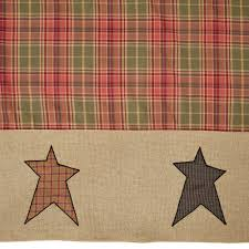 Primitive Curtains For Kitchen Primitive Curtains And Country Valances For Home Decorating