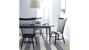 marlow table and chairs ii black maple dining chair crate barrel pertaining to elegant property plan