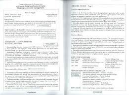 Two Page Resume Format Magnificent One Page Resume Format Armnico