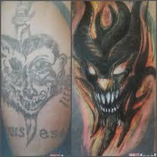 неудачные партаки лучше прятать под хорошие татуировки еще