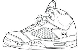 Air Jordan Coloring Pages Lovely Jordan Shoes Coloring Sheets 25