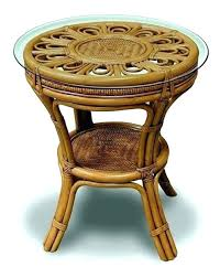 round wicker end table round wicker end table outdoor tables lane offers side patio round wicker round wicker end table