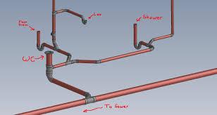 Basement Bathroom Plumbing Layout Home Design Inspiration - Bathroom plumbing layout
