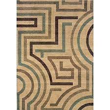 beige tan contemporary area rug x 7 rugs 9x12