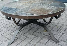wrought iron side table glass and wrought iron coffee table s outdoor round wrought iron coffee