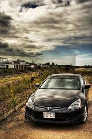 honda iphone wallpaper. Exellent Wallpaper Black Honda Accord In Yard IPhone Wallpaper Download  Throughout Iphone