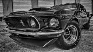 1969 ford mustang boss 429 in HDR by XxAries1970xX on DeviantArt