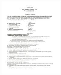 Property Management Resume Samples 9 Property Manager Resume Templates Pdf Doc Free Premium
