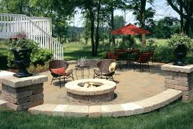 patio outdoor patio with fire pit garden ideas designs area pits design marvelous modern picture