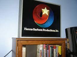 It is an updated cgi variant of the original 1979 logo. Hb Swirling Star Logo Light Box On Bookshelf Irweasel Lives Flickr