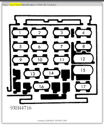 fuse box diagram electrical problem 6 cyl front wheel drive thumb