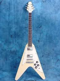 81 flying v 81 gibson flying v white