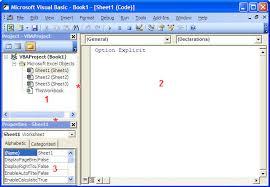 Basic Coding Language Section 1 Programming In Excel Macros