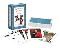 downton abbey playing cards set