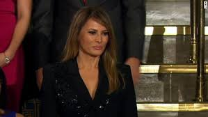 Image result for WATCHING MELANIA TRUMP AT CONGRESS JOINT SESSION