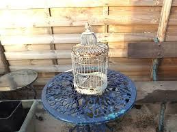 old bird cage garden decoration art
