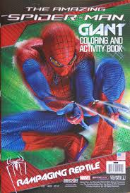 A wide variety of giant spiderman toy options are available to you, such as material. Amazing Spider Man Giant Coloring Activity Book Rampaging Reptile Bendon In Comics Books Spiderfan Org