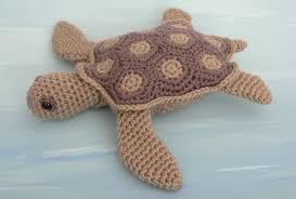 Turtle Pattern Adorable AquaAmi SimpleShell Sea Turtles 48 Amigurumi Crochet Patterns