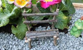 how to make fairy garden furniture. Delighful Make View Larger Image Fairy Bench Seat For A Fairy Garden On Kidspot Intended How To Make Garden Furniture N