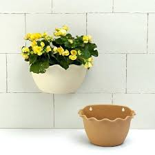 small wall planters small large beige light brown living wall planter vertical garden wall mounted hanging