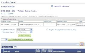 Upload Grades Student Administration System