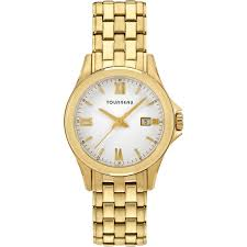 tourneau women s goldtone white dial watch 32mm tlrb w067 tourneau women s goldtone white dial watch 32mm tlrb w067