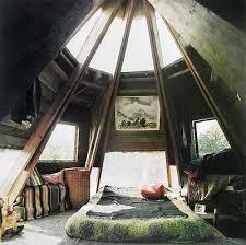 rustic attic bedroom