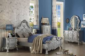 Enchanting Victorian Style Bedroom Sets Including Silver Finish Dresden  Trends Pictures Youth Set Collection