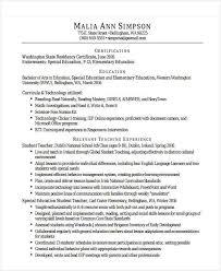20+ Teacher Resume Templates - Pdf, Doc | Free & Premium Templates