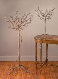 Large Jewelry Tree Display Stand Natural Metal Tree Display Trees placecard holder Reception 3