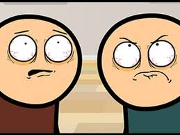 Cyanide And Happiness Vending Machine Awesome Cyanide And Happiness Staring Contest Cartoon Crazy Watch