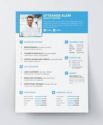40 Best Free Modern Resume Cv Psd Ai Indesign Templates Modern