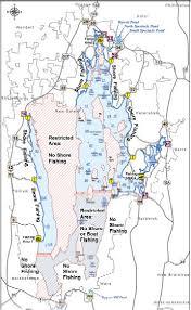 Mozingo Lake Depth Chart Bass Fishing Locations Bass Fishing Notes