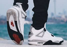 jordan 4 retro. nike air jordan 4 white cement 2016 retro