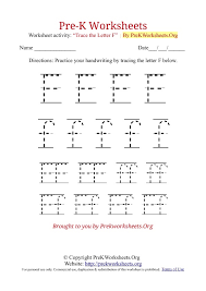 tracing letter f
