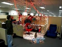 Office bay decoration themes Cubicle Christmas Themes For The Office Beampayco Office Decoration Idea Featuring Office Social Awareness Christmas