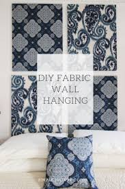 moroccan inspired fabric wall hanging