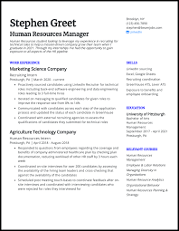 Sample resume for recent college graduate (internship) if written about clearly and effectively, internship experience can be a huge boost to any recent college graduate's resume. 4 College Student Resumes That Landed Jobs In 2021