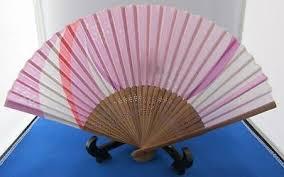 Japanese Fan Display Stand FOLDING FAN Japanese SENSU Ukiyoe Hokusai Design Ukiyoe With 32