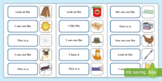 Cut and paste activity.this packet includes 21 cut and paste sheets for your students to use in whole group, centers, intervention or small groups.step 1: Complete The High Frequency Sentence Using Cvc Words Cvc Words